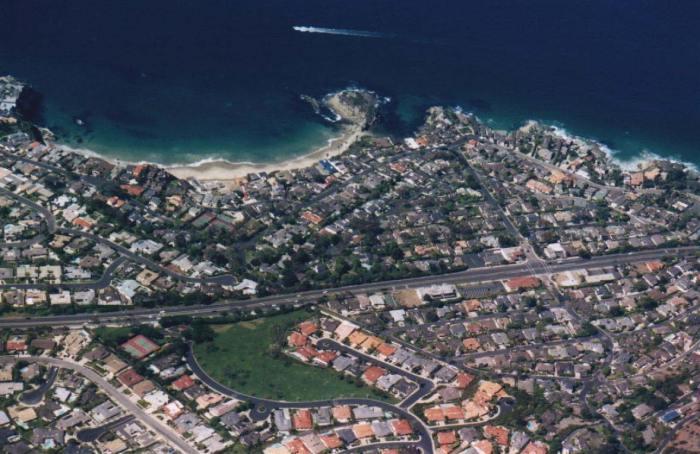 Three Arch Bay Aerial
