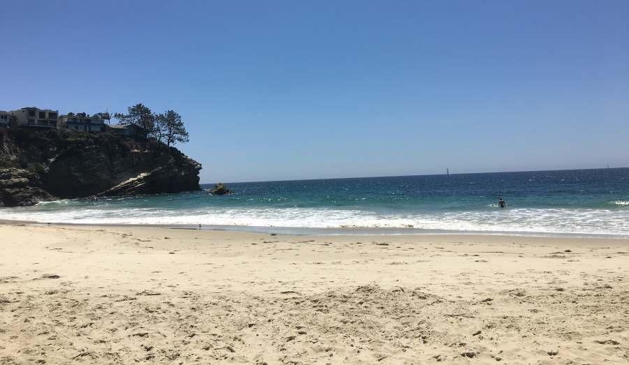Three Arch Bay Beach